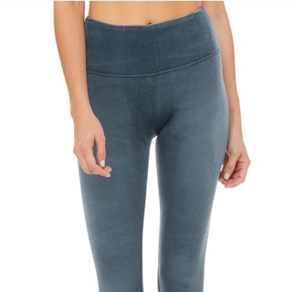 fe6c54457ddff ALO Yoga Pants   Aloyoga High Waist Posh Legging Eclipse   Poshmark